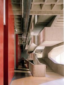Staircase of the Centre National de la Danse