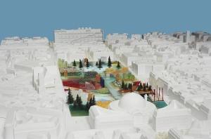 Entwurfsvorschlag von MVRDV für das Forum des Halles