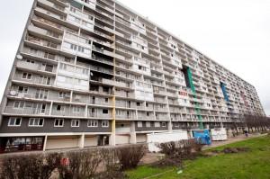 Der Zeilenbau Balzac in La Courneuve