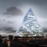Der Tour Triangle in Paris