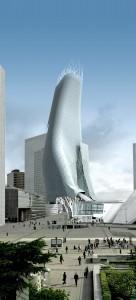 Der Tour Phare in La Défense