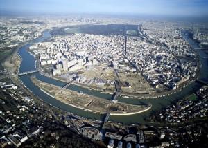 Die Ile Seguin in Boulogne Billancourt