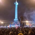 Place de la Bastille 06.05.2012, F-Paris