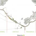 Le projet de l'aménagement du Mapocho à Santiago