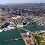 An urban development project over a water treatment plant in Barcelona