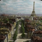 Bird's-Eye View of Paris from Arch of Triumph 1915