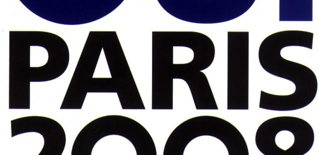 Logo der Olympischen Spiele Paris 2008