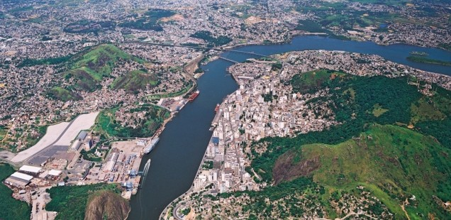 Vitoria, la baie et son hinterland