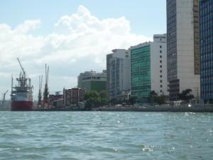 La Ville et le port de Vitoria