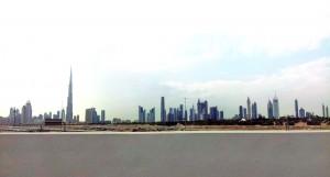 Le skyline de Dubaï