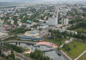 View on Almetyevsk