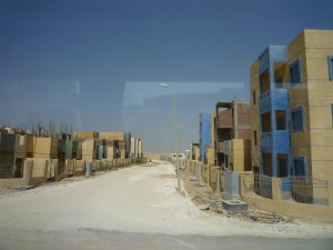 Housing construction in New Fayoum