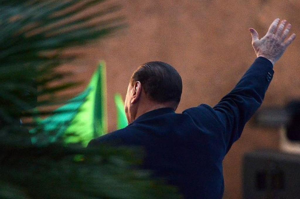 Silvio Berlusconi 27/11/2013 © AFP Vincenzo Pinto
