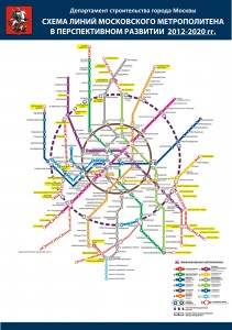 Moscow Subway Plan 2013-2020