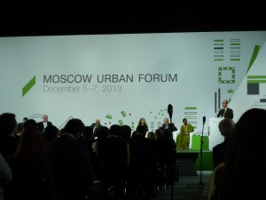 Moscow Urban Forum in Moscow