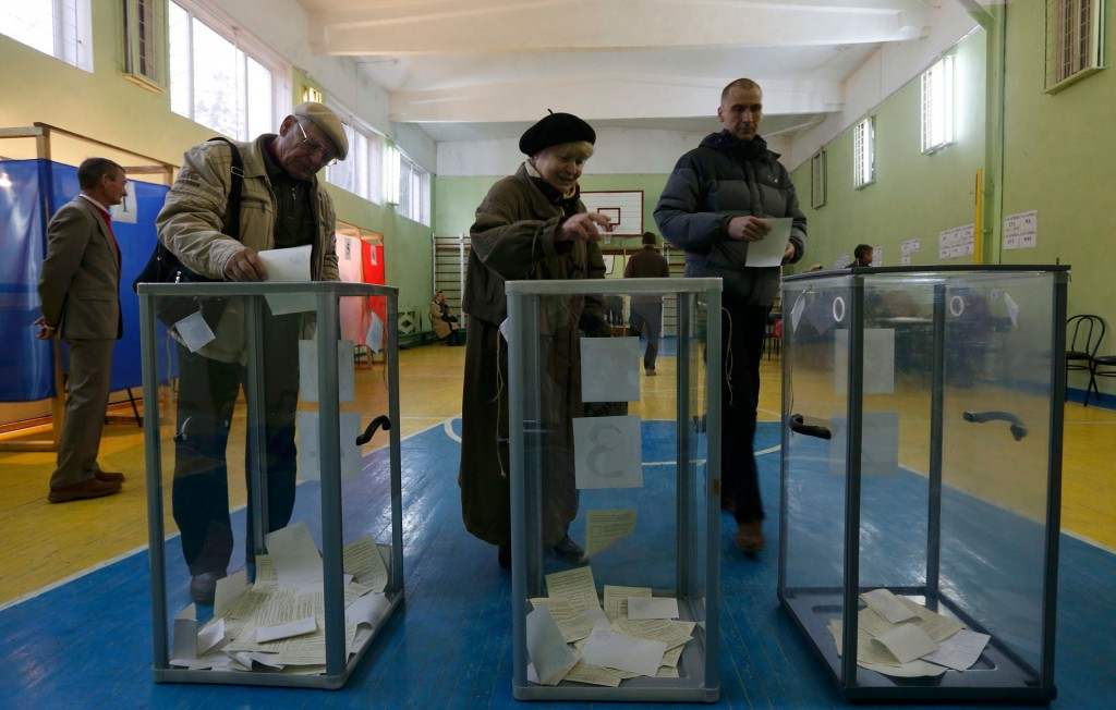 16/03/2014 Crimea referendum in Urkaine