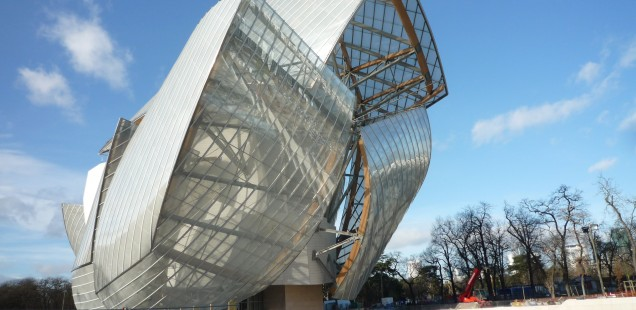 Die Fondation Louis Vuitton in Paris