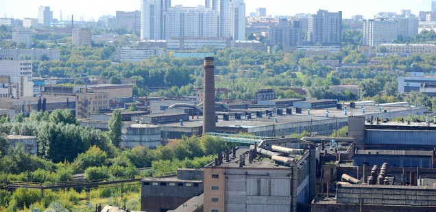 The ZIL factory site in Moscow