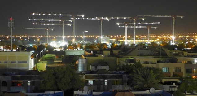 The skyline of Al Ain