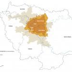 Der Perimeter der Metropole Grand Paris