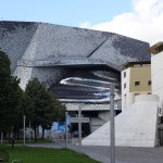 View on the Philharmonie in Paris