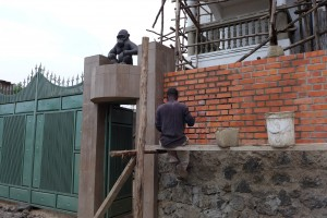 Construction of villas in Goma