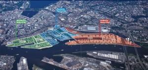 Quartiersübersicht HafenCity