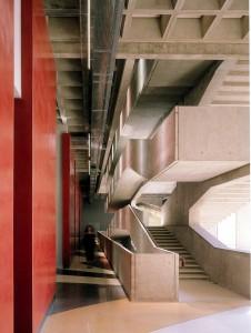 Treppenhaus des Centre National de la Danse