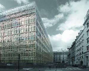 Das Kulturministerium in Paris