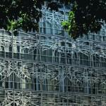 Details der neuen Fassade