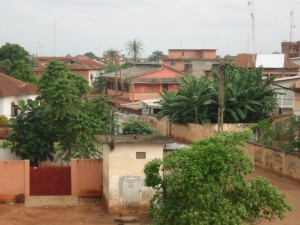 View over Porto-Novo