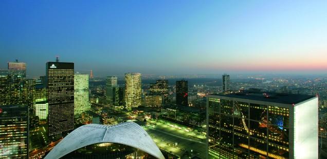 Blick über La Défense