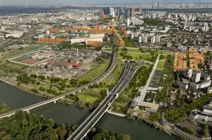 """Projekt """"Seine-Arche"""" von Nanterre"""