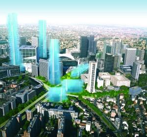 """Der """"Erneuerungsplan"""" von La Défense"""