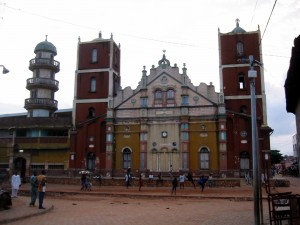 The great mosque in Porto-Novo