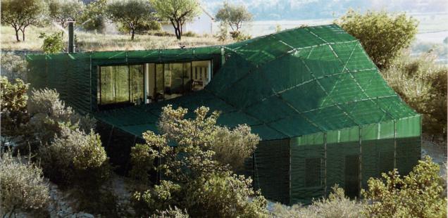 Das Haus der Familie Barak im Süden Frankreichs
