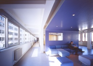 The lounge and waiting area