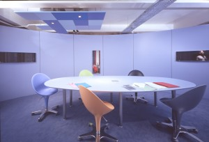 Inside a conference room