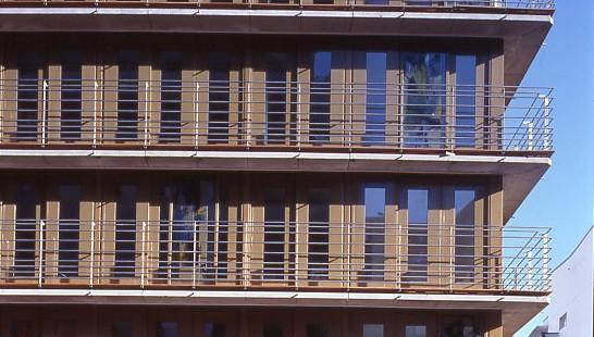 Details an der Fassade