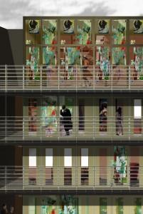 Darstellung der Fassadendetails