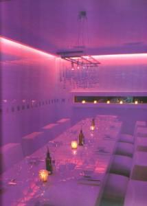 Der separate VIP-Saal des Restaurants La Cantine du Faubourg