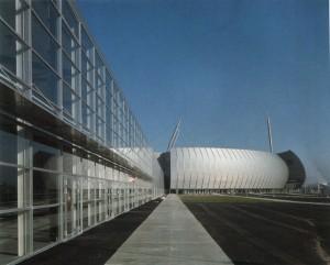 Der Konzertsaal Zenith von außen