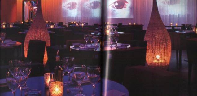 Der Hauptsaal des Restaurants La Cantine du Faubourg