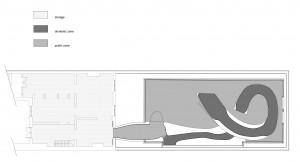 Grundriss der Galerie