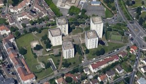 Aerial view of La Hêtraie
