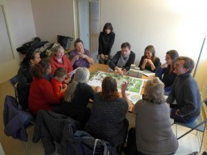 Participatory workshop on the open spaces of La Hêtraie