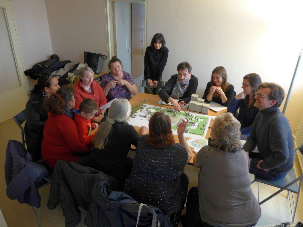 Participatory workshop on the open spaces of La Hêtraie
