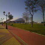 Le stade Ficht à Sotchi