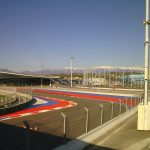 Piste de Formule 1 dans le parc olympique de Sotchi