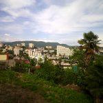 Vue sur Sotchi depuis la colline Vinogradnaïa